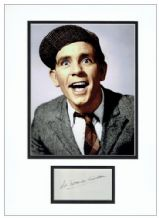 Norman Wisdom Autograph Signed Photo